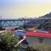根府川の白糸川橋梁
