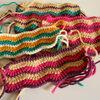 かぎ針で試し編み