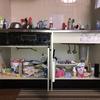 キッチン用品を断捨離。シンク下収納のビフォーアフター画像を公開。