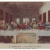 ダヴィンチ 「最後の晩餐」 巨大蛇の人間食事会
