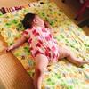 生後9ヶ月の四女 布団で寝ない問題もいつの間にか解決していた!