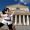 【ロシア】ユーリ聖地巡礼の旅25(ボリショイ劇場からのモスクワ街歩き)