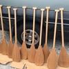 OCパドル:ワンパドルワンパドル重たい水をキャッチして、大切に漕いで行こう!!