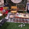 ニトリのキャンプグッズが安くておしゃれで機能的!ウチソトグッズで、お家でBBQも楽しもう。