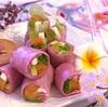 ふわピンク桜色♡春を感じる生春巻き