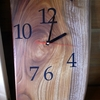 木の板で壁掛け時計を自作してみた