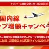 対象者限定プロモ@JAL