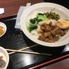 台北夜市新宿NSビル店の「魯肉飯」はかなりスッキリな仕上がり。