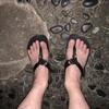 隅田川テラス6キロ:この夏初めてサンダルで走る・・・気持ちいい
