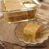 業務スーパー購入品の粉寒天と冷凍マンゴーでマンゴー牛乳寒天のおやつ。【ヘルシーレシピ】