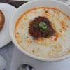 ミスドのコラボ担々麺、結構美味しい。