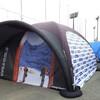 イベントで宣伝効果大!特注のテントです!