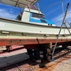 【船上架】船底掃除とペンキ塗り
