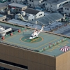 2018年11月10日(土) カレッタ汐留46階から朝日新聞東京本社屋上ヘリポートへ着陸するJA03AP「ゆめどり」を撮った話