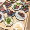 「馬肉と近江くずし野菜 草津ザ・ホースマン」(JR草津駅)の馬刺し、これは絶品だぁぁぁ