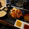 【酒肴ちいち@新橋】からあげ食べ放題のランチで腹一杯に!【若鶏の唐揚げ食べ放題定食】