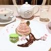 どこから見ても可愛い♡サクラモンブランプレート&ベリーブロッサムティー(Q-pot CAFE @表参道)