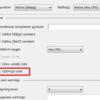 Visual Studio:Releaseモードでのブレークポイント有効化