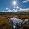 秋の尾瀬ヶ原、紅葉ハイキングから見晴キャンプ場でのんびりテント泊【1日目】