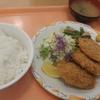 横須賀中央【開国亭】ヒレカツ定食 ¥600+大盛ライス ¥100