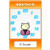 ハーボット時計の HTML5 版のブログパーツについて。