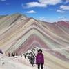 ペルーで今話題のカラフルな山レインボーマウンテンのツアーに参加してきました!!
