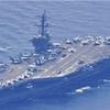 カール・ビンソン、日本海で韓国海軍と合同訓練