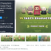 【無料アセット&作者セール】「森の住人」と「村」をテーマにした可愛い2Dキャラクター合計30体が無料! / 2Dゲームのキャラクター作成エディタと操作可能なコントローラが半額「Fantasy Heroes: Character Editor [PRO]」