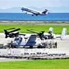 オスプレイ、エンジン交換作業続く…大分空港