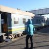 首都Windhoekへの鉄道の旅