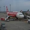 12月の台湾旅行・1日目(2)_エアアジアDJ803便で台北入り