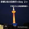 京都2泊3日旅行 <Day2> 子供たちと鉄道博物館へ