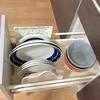【食器棚のないキッチン】100円ショップの3アイテムでより快適に器の収納を見直しました。