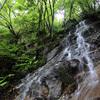 滝の写真 No.13 岡山県 下の谷の滝(上の滝と下の滝)