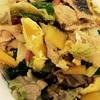 豚肉と卵&野菜の中華炒めわルン♡