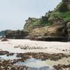 再訪、下田 白濱神社(白浜神社) 火達山の海岸から海蝕洞と御釜へ
