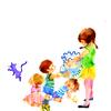 わくわくドキドキ😊金魚を育てる子供たち