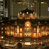 東京駅の夜景、SONY α900で撮影。また行ってきた。2012年10月4日。