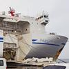 《11.3.11》被災地東北、18次<巡訪>/ (52)18日目(1)帰路のフェリーは〝新造船〟  今回のテーマ[つぎのステップにむけて]