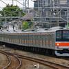 4月29日撮影 武蔵野線 西船橋駅 その他もろもろ 205系と185系
