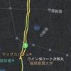 ウイングコート次郎丸のジョギングコース