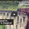 ホグワーツ魔法学校行の列車は実在していた