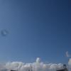 青い空と雪