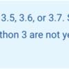 DataflowでPython3系を使って良いのか検討してみた