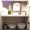 キッチン吊り戸棚の再整理 & コンロ下収納のその後