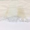 オフホワイトのショールに付いたシミの復元加工