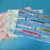 【連絡帳袋】ランドセルの荷物整理に!クラッチ型シンプルなバッグインバッグの作り方