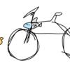 ボロボロの自転車