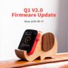 【HiFiGOアナウンス】デジタルオーディオプレーヤー Shanling Q1のファームウェアV2.0がリリース:Wi-Fi機能が追加されました!!