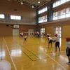 3年生:体育 ボールを投げる練習